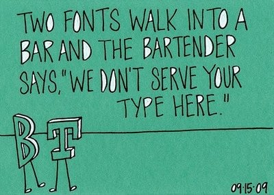 TWO FONTS