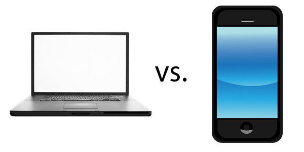 Desktop VS Mobile