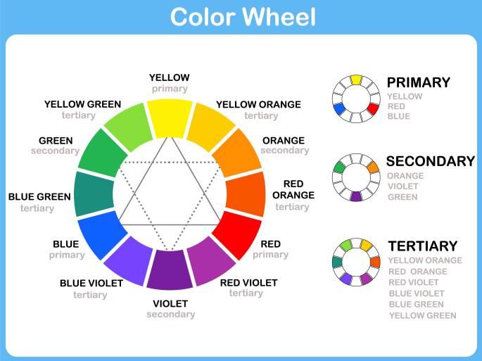 Color wheel chart - Adobe Stock