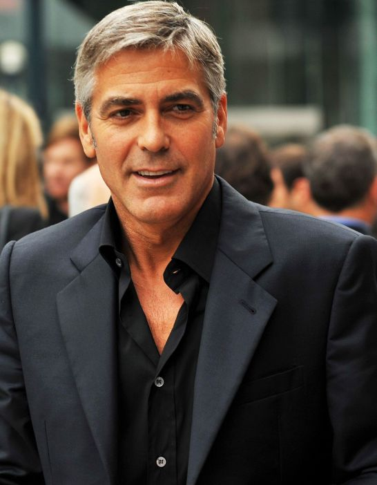 George Clooney - Golden ratio