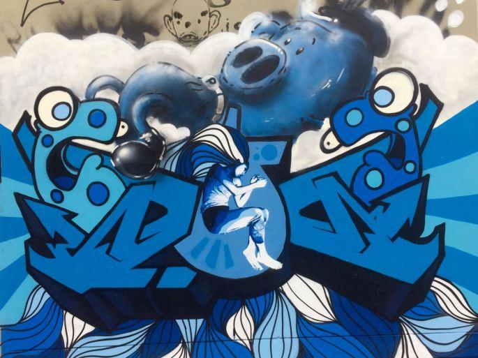 Street Art Bailey St, Newtown