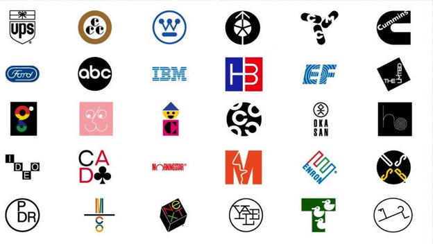 Logos designed by Paul Rand