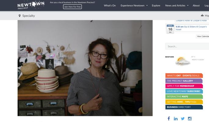 Rosie Boylan Hats Shop